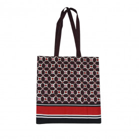 Tote bag Tuileries Aubergine