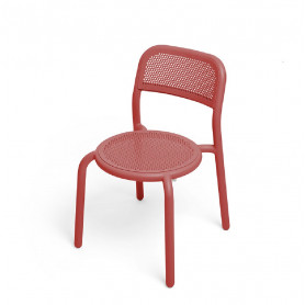 Chaise Toni Fatboy rouge
