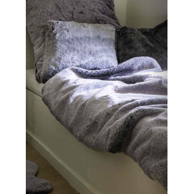 Couvre lit grizzly anthracite