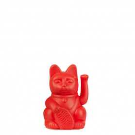 Lucky cat mini rouge