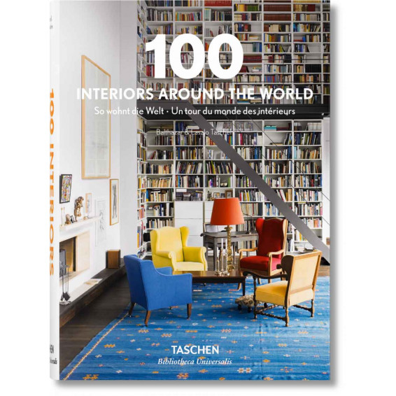 100 interiors around the World TASCHEN édition