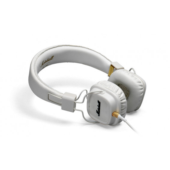 Casque Marshall blanc