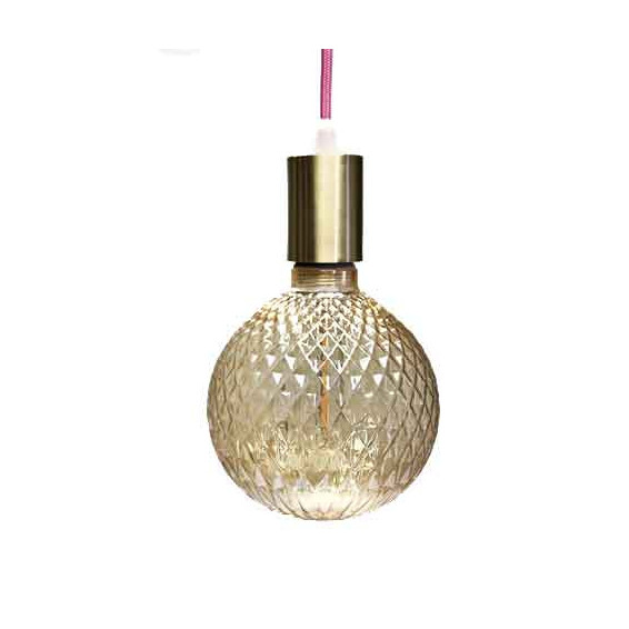 Ampoule LED ambre 125mm