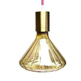 Ampoule LED ambre champignon 125mm