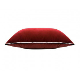 Grand coussin Varsovie rouge