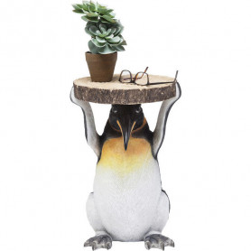 Table d'appoint pingouin