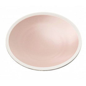 Assiette plate sicilia baby pink