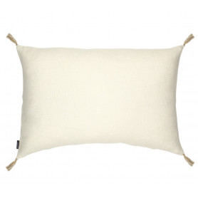 Coussin lin luni creme