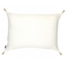 Coussin lin luni neige