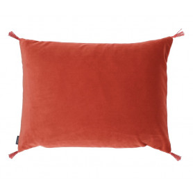 Coussin velours smooth rooibos