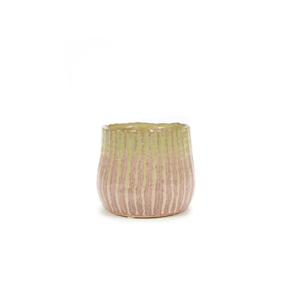 Cache pot lily rond