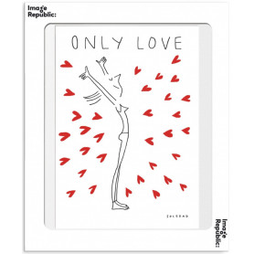 Affiche Soledad Only Love 30x40cm