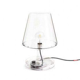 Grande lampe Trans-parents transparent