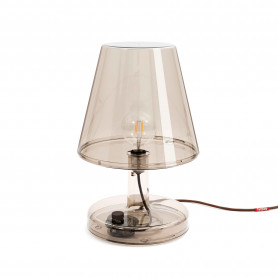 Grande lampe Trans-parents bronze