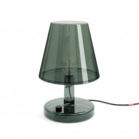 Grande lampe Trans-parents dark grey