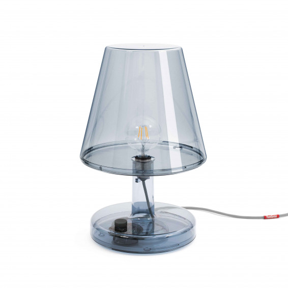Grande lampe Trans-parents grey