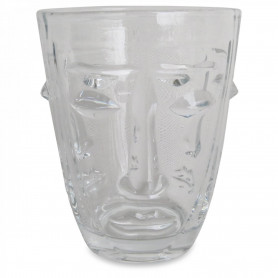 Verre visage transparent