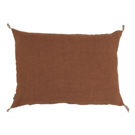 Coussin lin luni biscuit