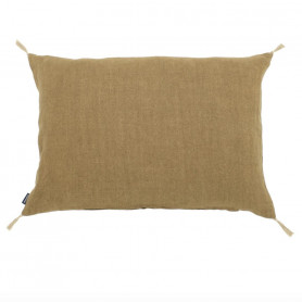 Coussin lin luni tabac